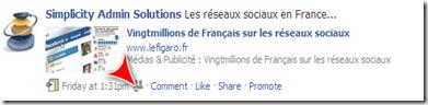 Multilingual Facebook page