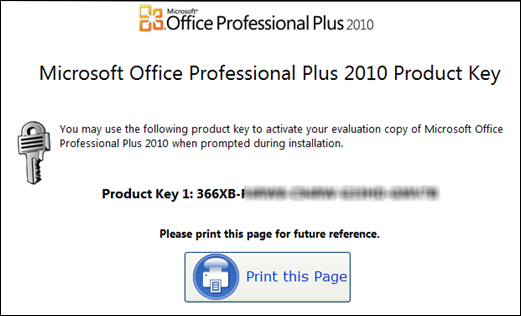 Microsoft office professional plus 2010 60 day evaluation sparksspace - Office professional plus 2010 ...
