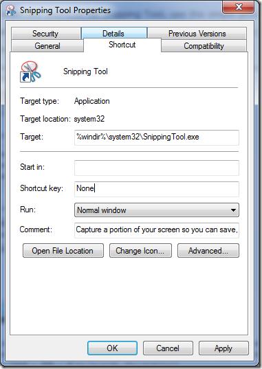 Snip Tool