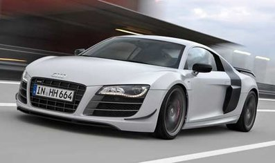Audi has created the speeded car
