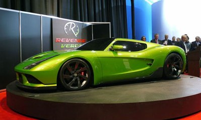 In Detroit have presented the new US supercar