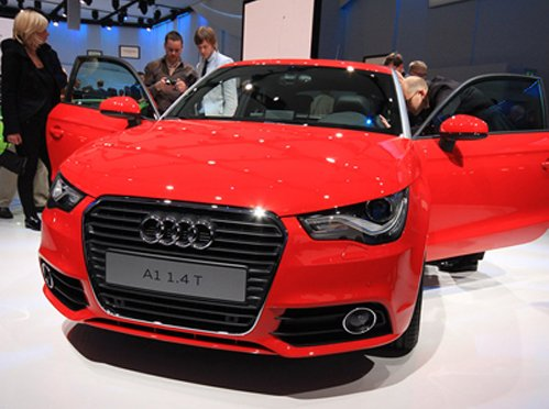Audi represents tuning for hatchback A1