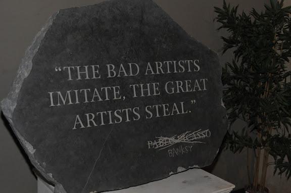 bad artists imitate
