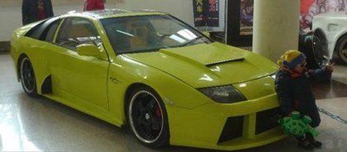 Nissan 300ZX and Lamborghini Murcielago