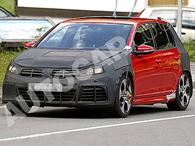 There were photos of the most powerful VW Golf