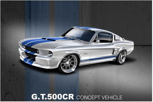Classic Recreations announced the Shelby GT500CR