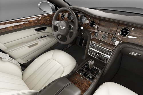 Interior sedan Bentley