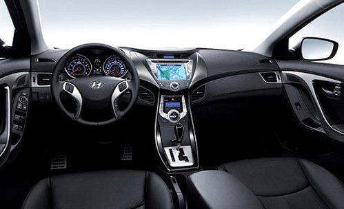 Interior Hyundai Elantra