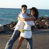 Yuma Salsero dancing salsa in Crete, Greece