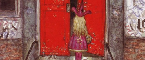 Le petit chaperon rouge par Yoshitaka Amano - Détail
