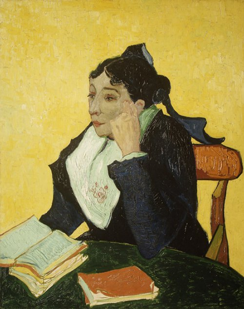 Vincent Van Gogh - L'Arlésienne (Madame Ginoux), 1888