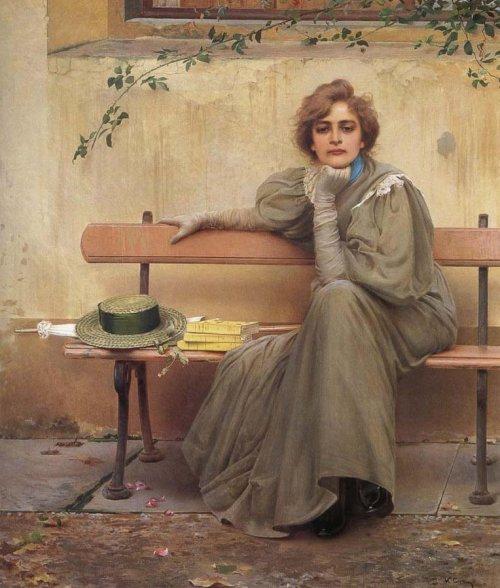 Vittorio Matteo Corcos - Rêves, 1896