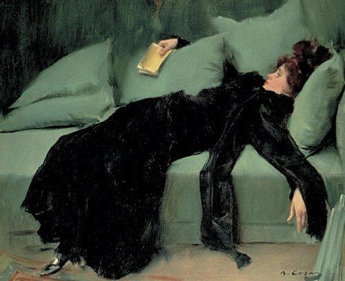 Ramon Casas y Carbo - Après le bal, 1895