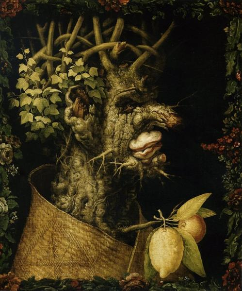Giuseppe Arcimboldo (1526-1593) L'Hiver, 1563