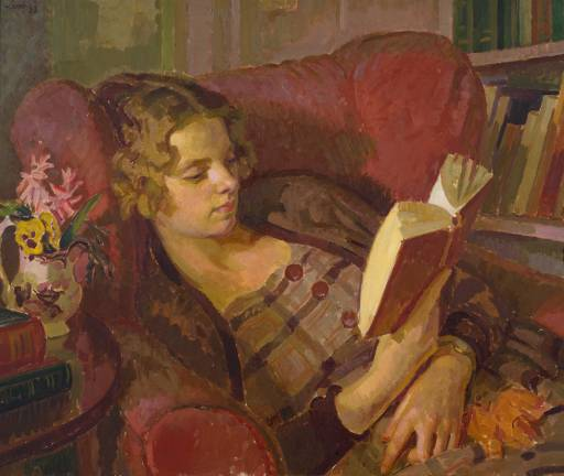 Henry Lamb [ The artist's wife ] 1933
