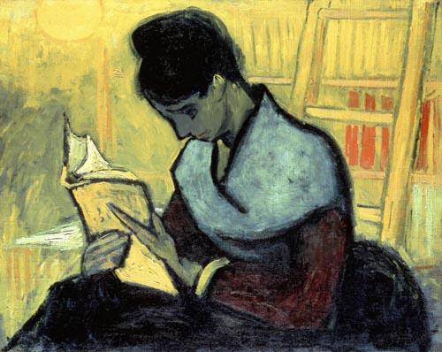 Vincent van Gogh [ La lectrice de roman ] 1888