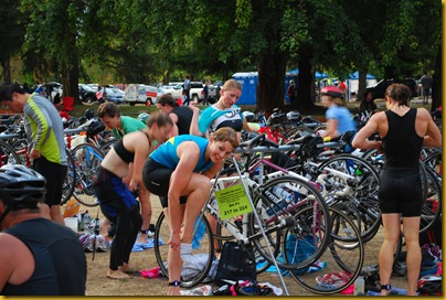 Lake Samammish Triathlon T1