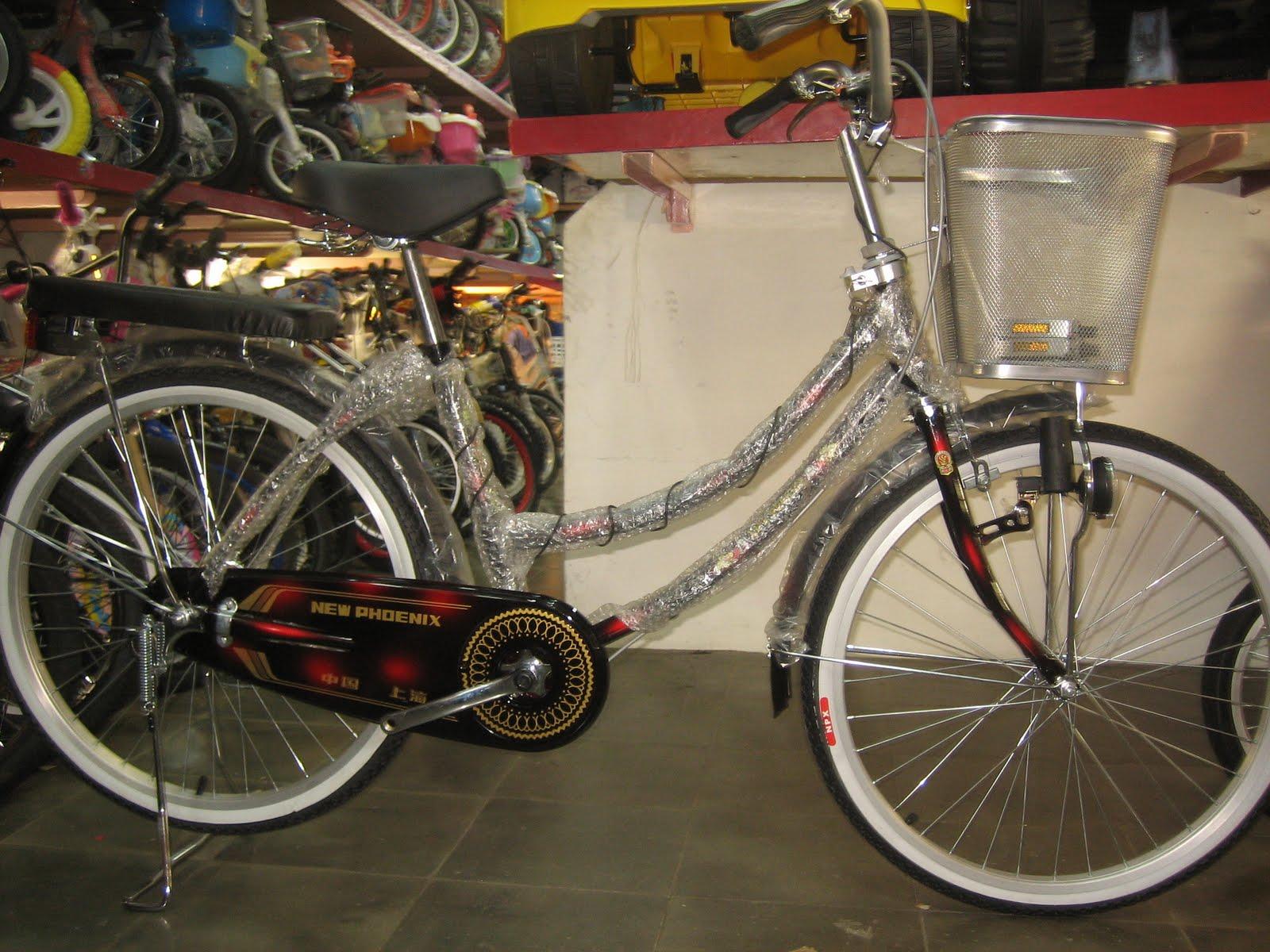 tokomagenta: A Showcase of Products: City Bike PHOENIX
