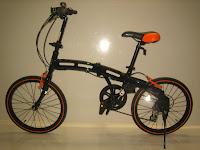 Sepeda Lipat DOPPELGANGER 202 Black Max