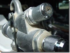 HVLP air control and fluid knob
