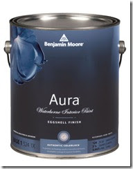 painting tips and techniques benjamin moore aura eggshell paint. Black Bedroom Furniture Sets. Home Design Ideas