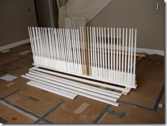 Baluster Spray Rack