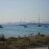 Am Horizont sieht man Ibiza