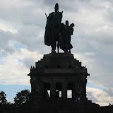 Die Statue am deutschen Eck