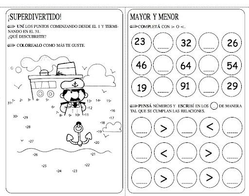 Ejercicios matematicos para niños de preescolar - Imagui