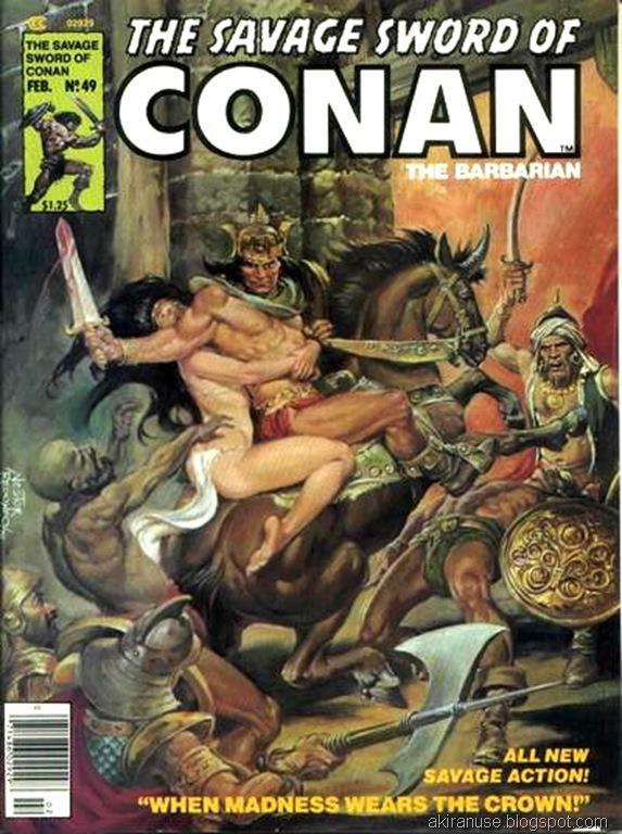 Savage Sword of Conan comic 49 4