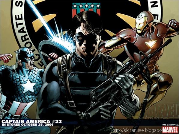 Capitan America vs Ironman
