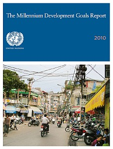 Cover of the Millennium Development Goals Report 2010