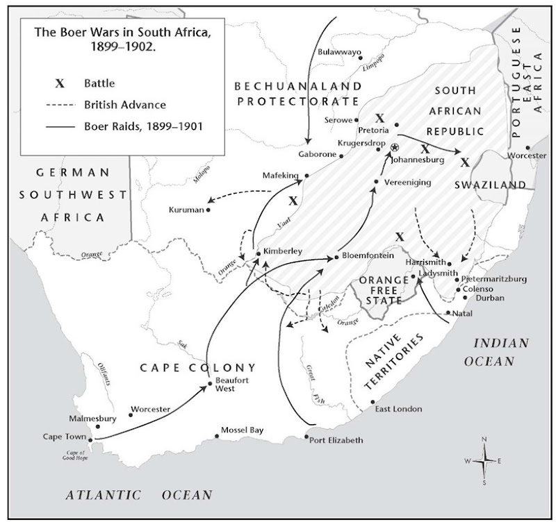 africans fought for land ownership in the boer war