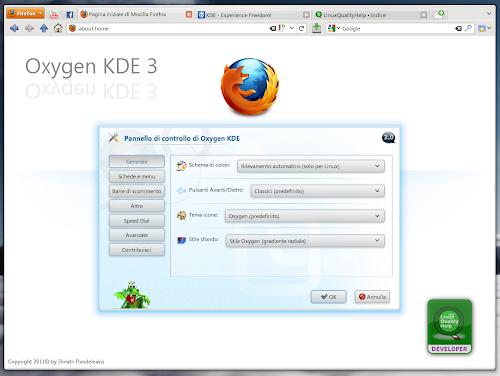 Oxygen KDE 3.0