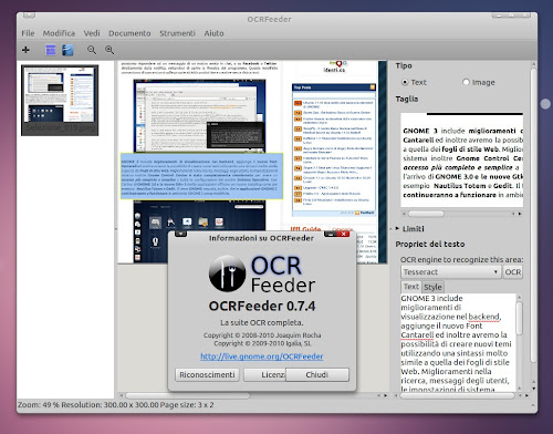 OCRFeeder 0.7.4