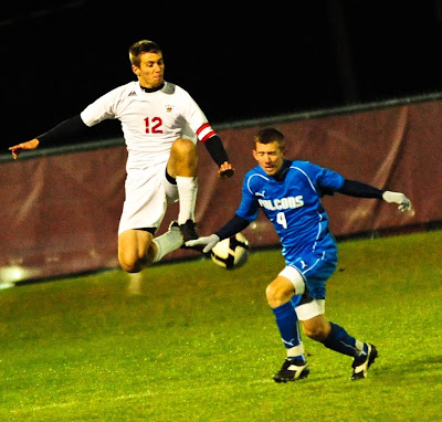 David Yoder clears against Riverdale