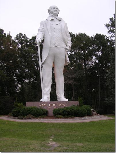Sam Houston statue 004