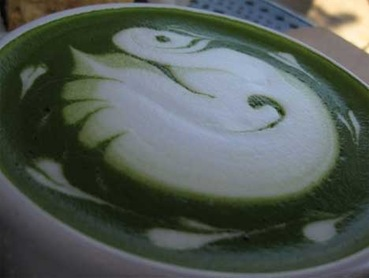 mint-latte-art