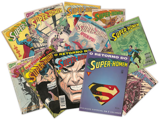 Revistas do Super-Homem