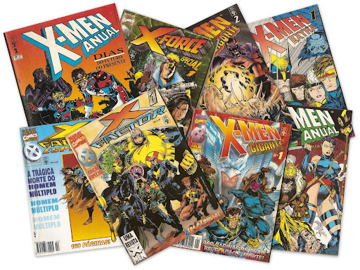 X-men, X-Factor e X-Force