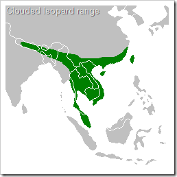 Clouded Leopard Range And Habitat | RM.