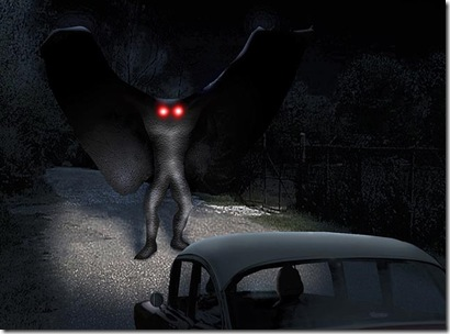 Ilustração do mais famoso avistamento da criatura