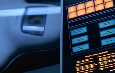 """Cena do Filme """"2001 - Uma Odisseia no Espaço"""", de Stanley Kubrick (1968) (Foto via Flick)"""