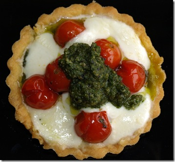 basil pesto tarts 2