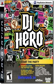 DJ Hero PS3 game 2010