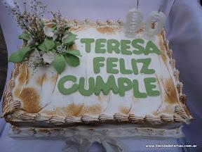 torta con flores