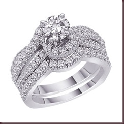Carat-Diamond-Engagement-Ring-and-Wedding-Band-Set-in-14K-White ...