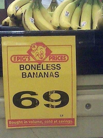boneless banana