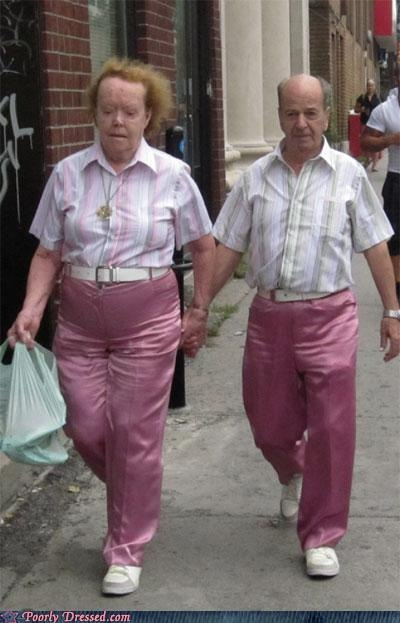 fashion fail - Matching Outfits Are Never A Good Idea
