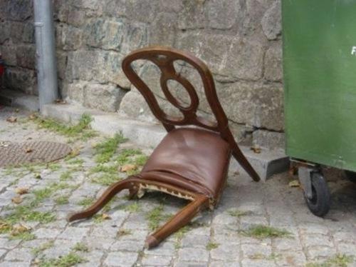 sad chair